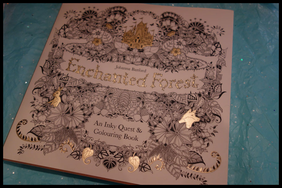 Book Review Enchanted Forest By Johanna Basford