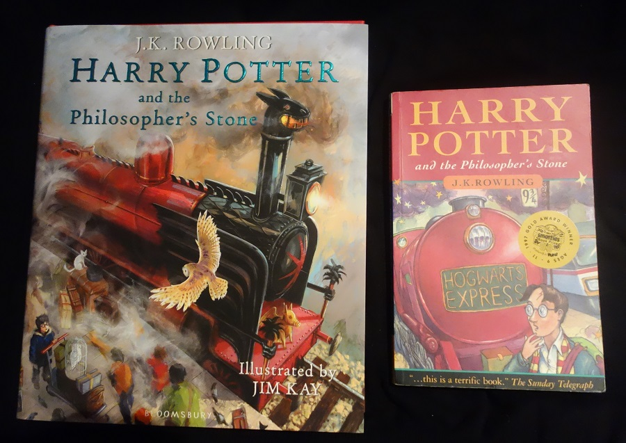 Harry Potter Book Jim Kay : Book review harry potter and the philosopher s stone by
