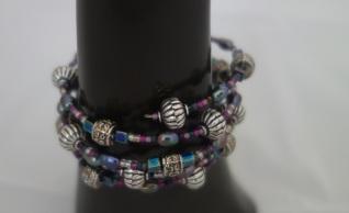 memory bracelet purple 3