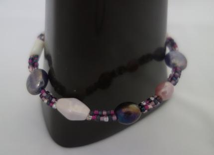 purple triple bracelet 3
