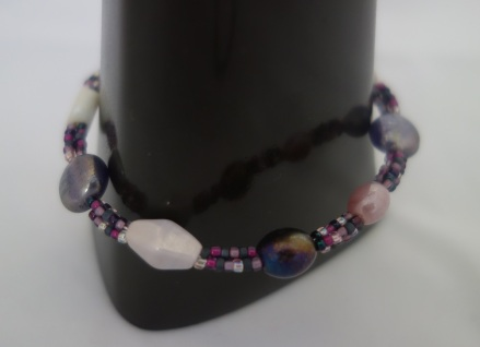purple triple bracelet 3
