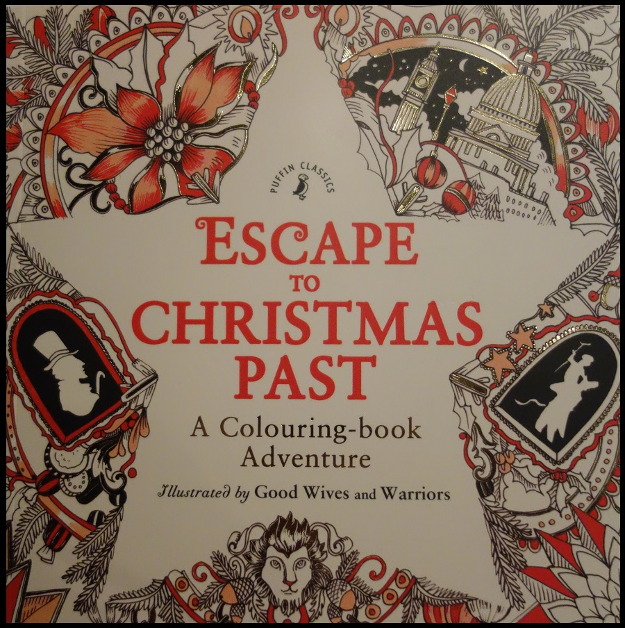 Warriors Book Series Summary: Escape To Christmas Past: A Colouring-book