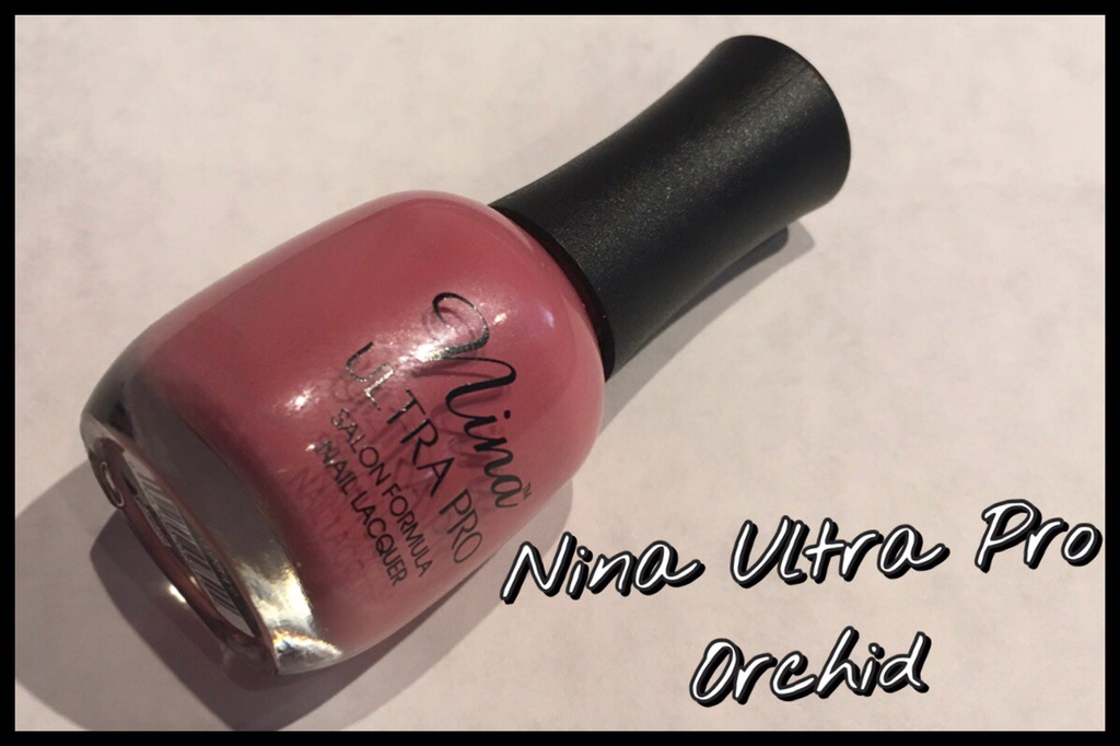 Review: Nina Ultra Pro Nail Varnish in Orchid | Thoughtful Pigeon