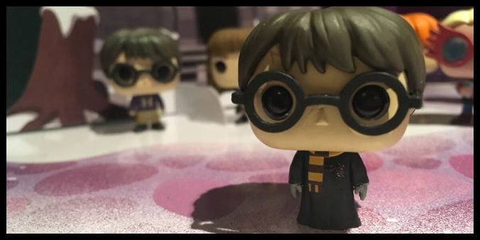 The winter Harry Potter Pocket Pop figure