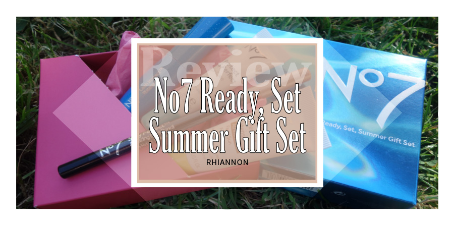 The title image. Behind the text box is a photo of the gift box with the products spilling out on some grass