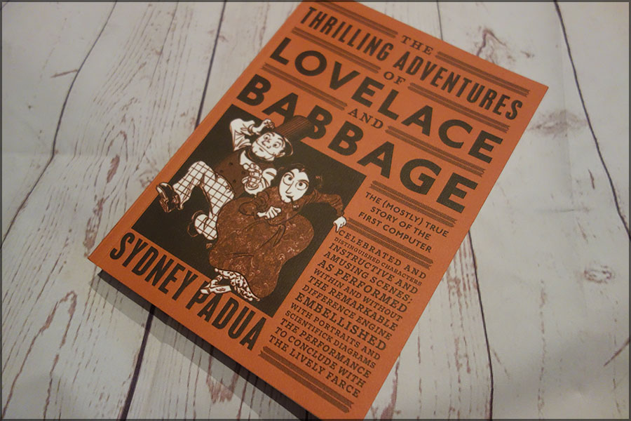 The front cover of the Thrilling Adventures of Lovelace and Babbage